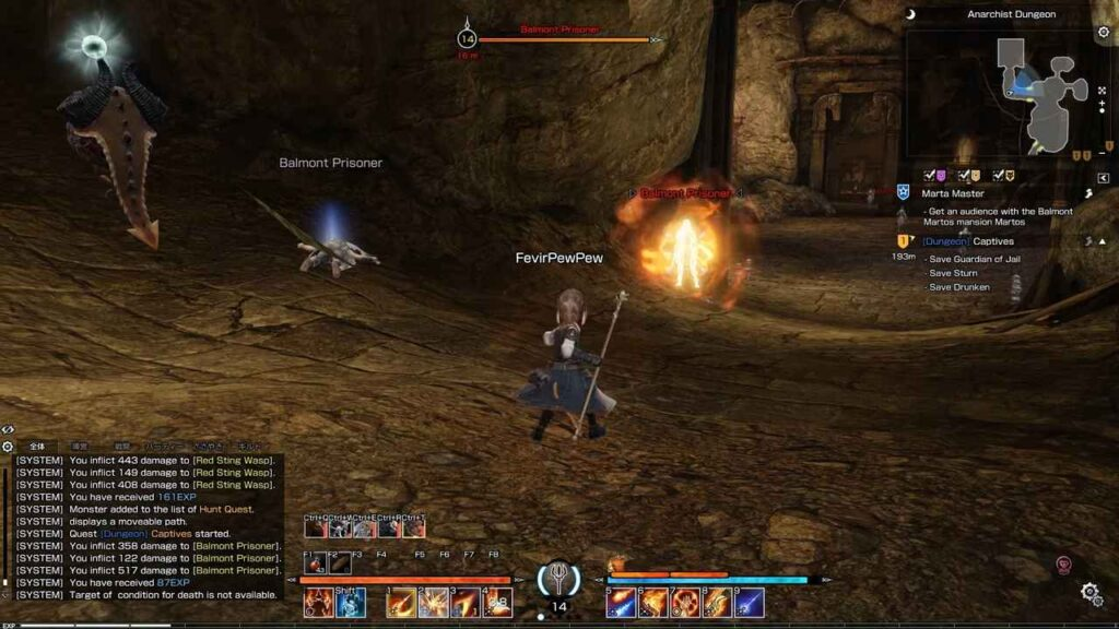 Bless Online Gameplay