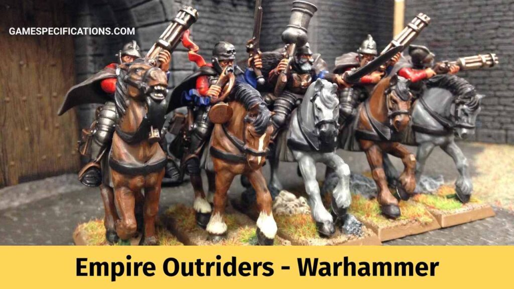 Empire Outriders Warhammer