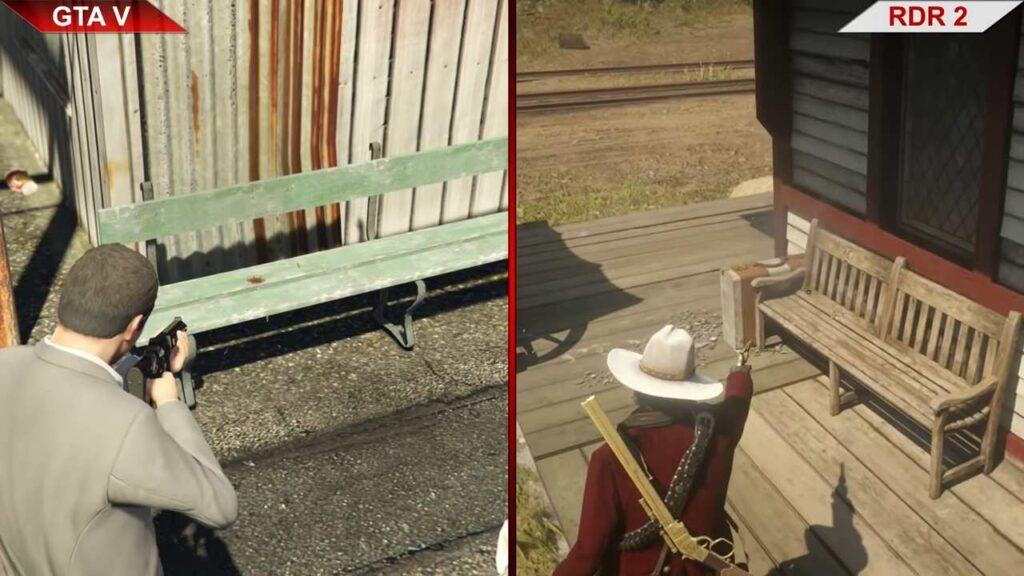 Red Dead Redemption 2 vs. GTA 5 - Similarities