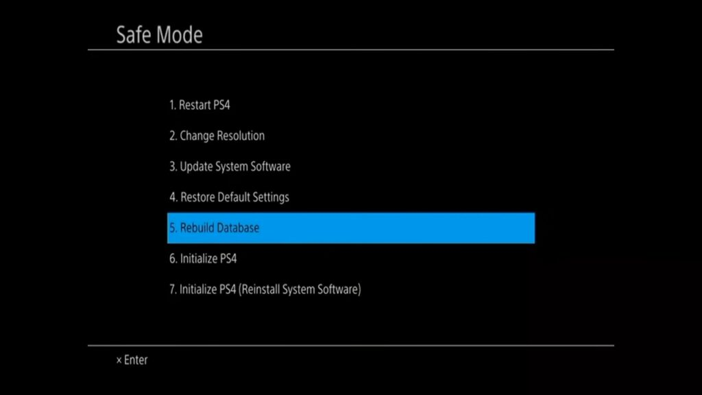 [Solved] PS4 Turns On By Itself Database Issues