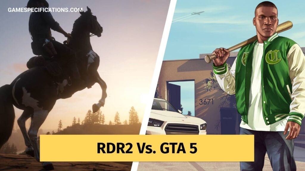 Red Dead Redemption 2 vs Gta 5