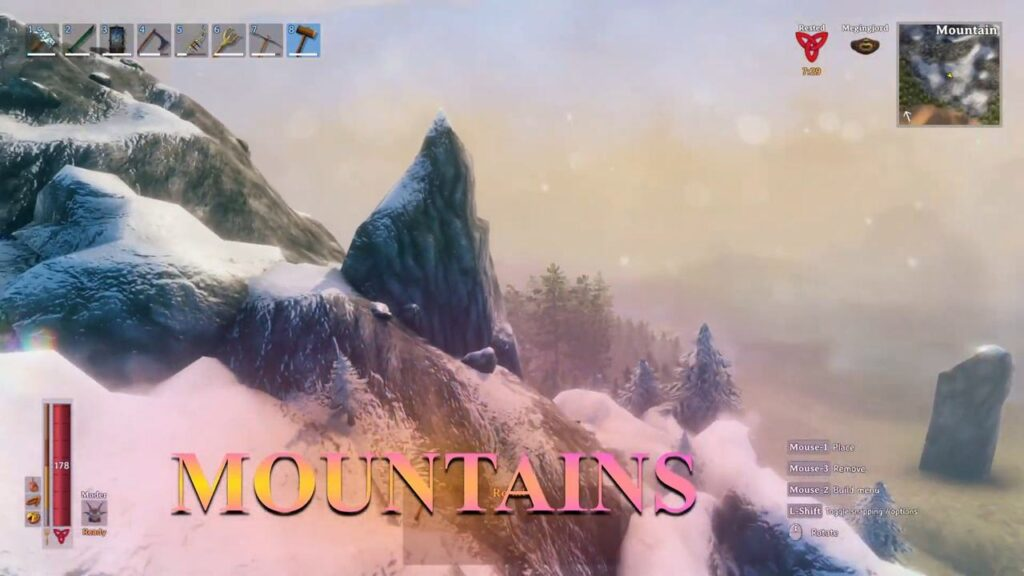 valheim biome Mountains