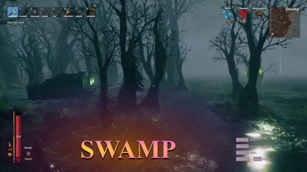 valheim biome Swamps