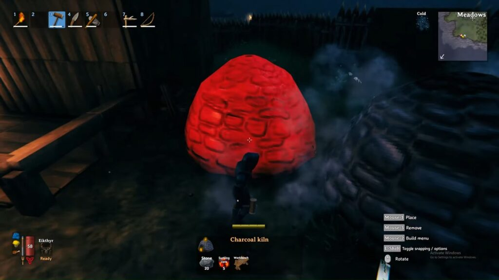 Valheim Charcoal Kiln Placement