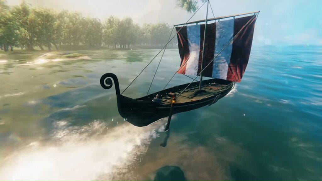 Valheim Longship Look