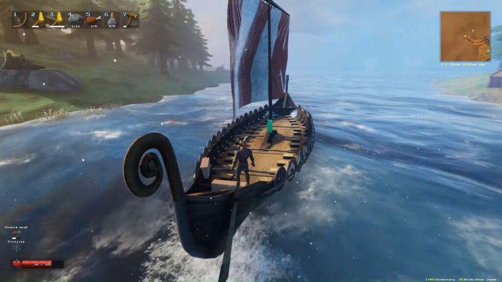 Valheim Longship Sail