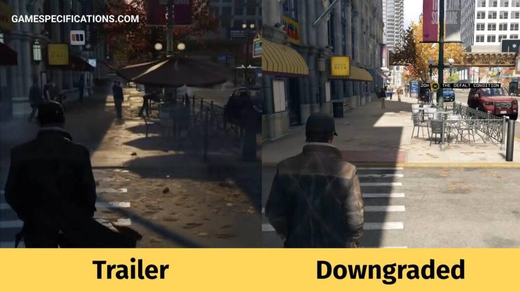 Watch Dogs Downgrade