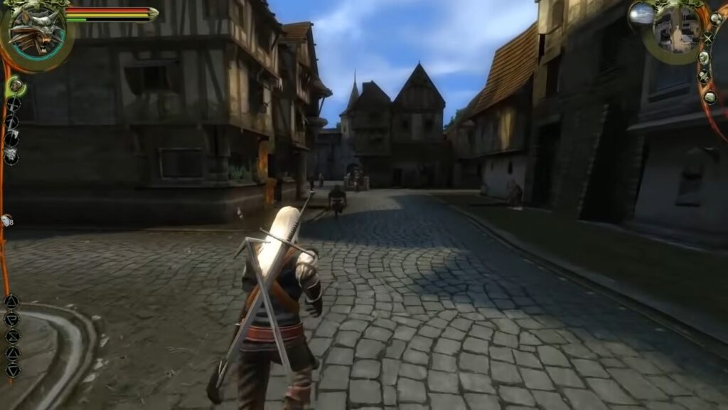 Witcher 1 gameplay