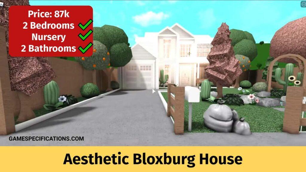 Aesthetic Bloxburg House