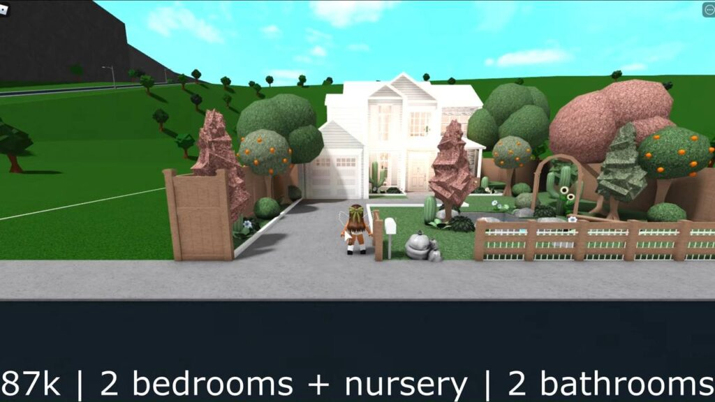 Aesthetic Bloxburg House 2 bedroom