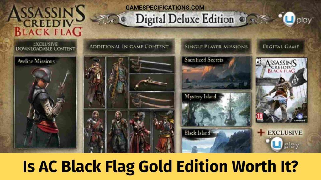 Assassin's Creed Black Flag Gold Edition Worth It