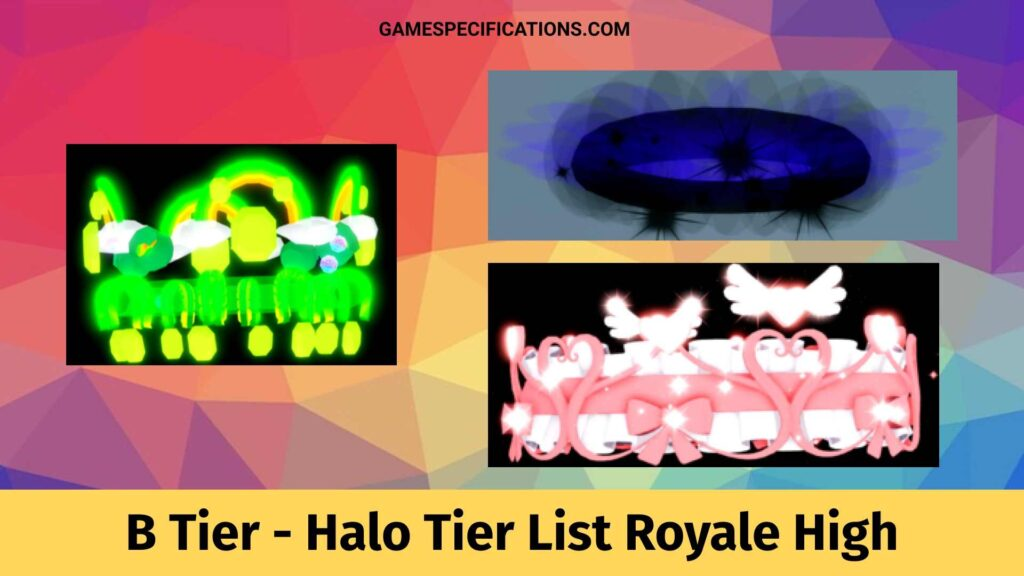 B Tier in Halo Tier List Royale High