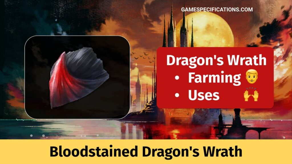 Bloodstained Dragon's Wrath