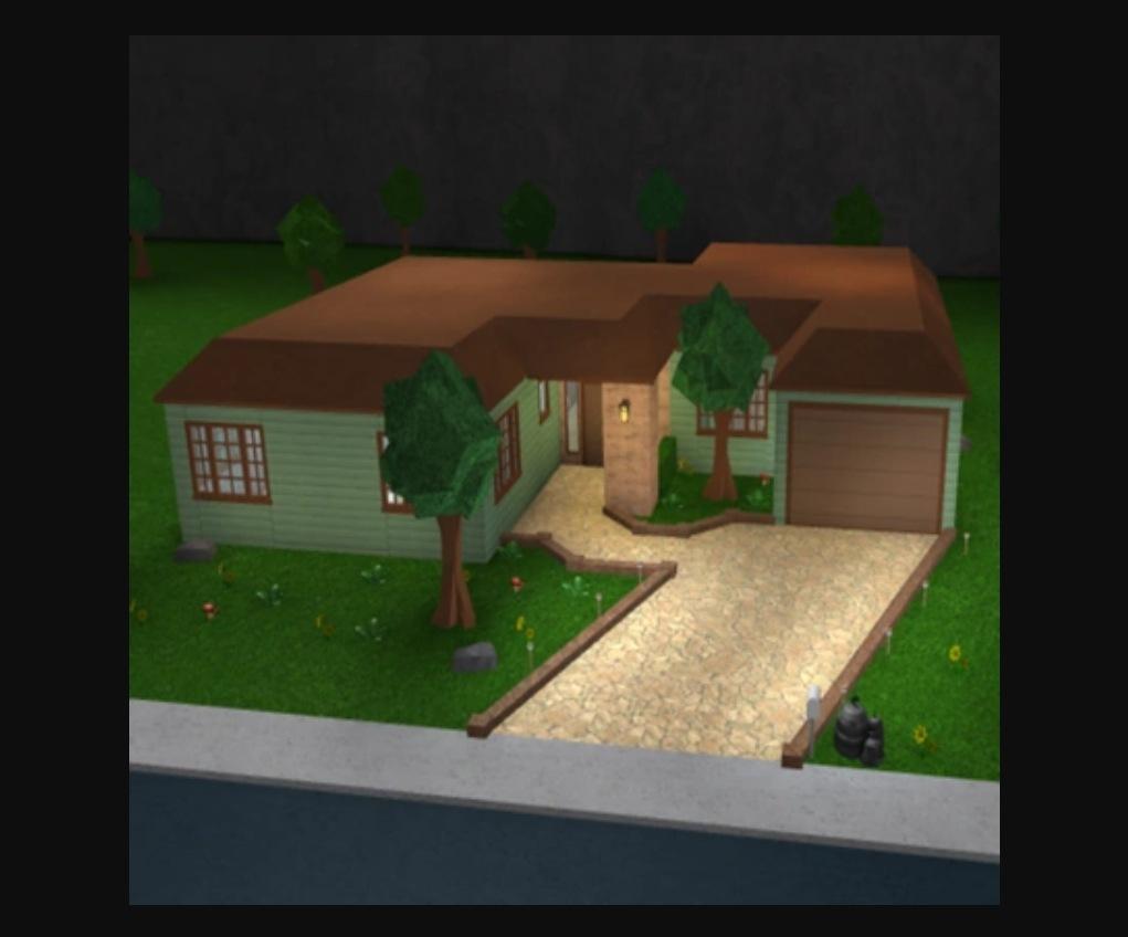 Bloxburg House Layout Classic Home