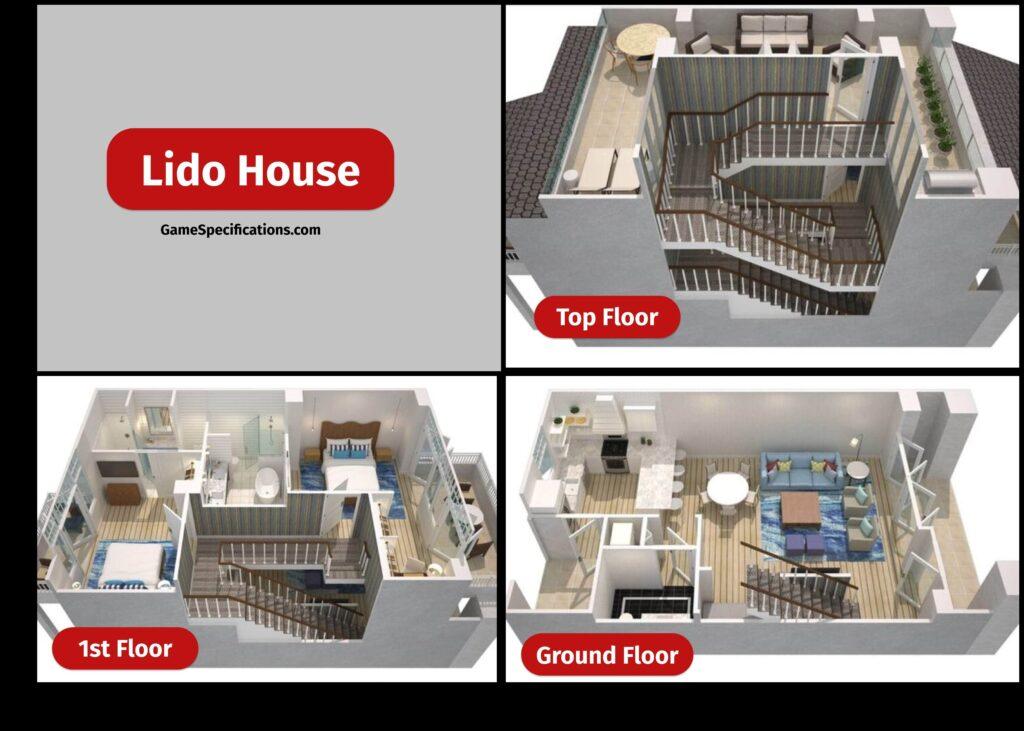 Bloxburg House Layouts Lido House