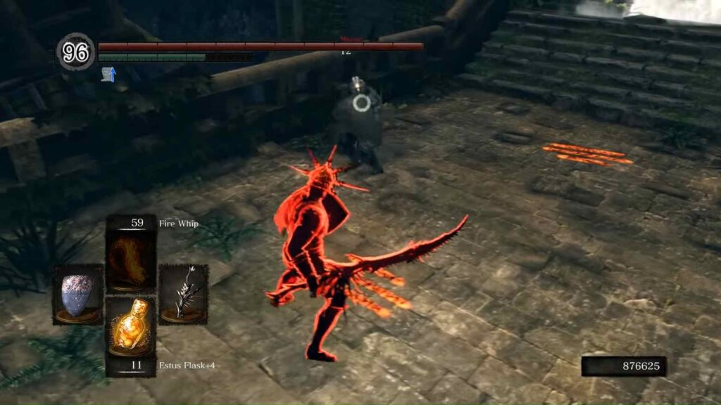 Dark Souls Pyromancer Playing