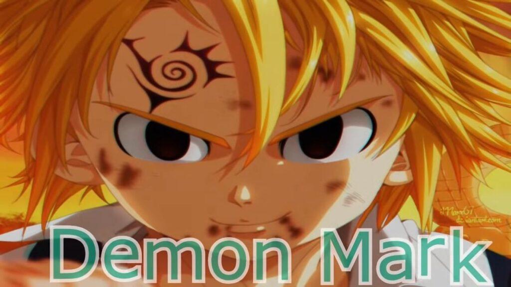 Demon Mark Meliodas