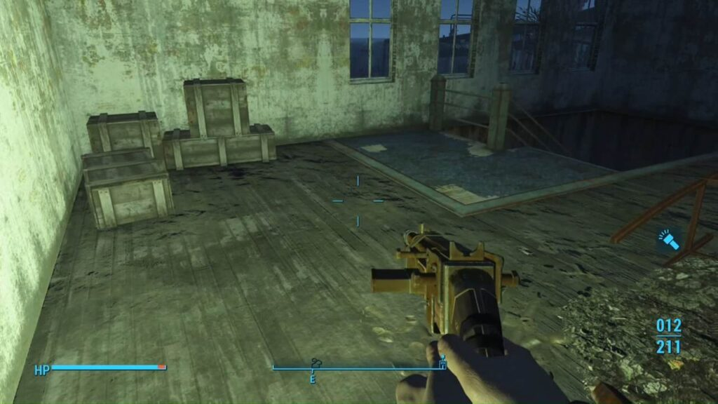 Fallout 4 Flashlight Turn On