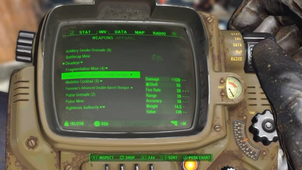 Best Build for Shotgun Fallout 4