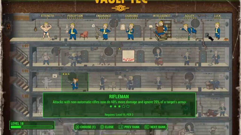 Fallout 4 Rifleman Perk
