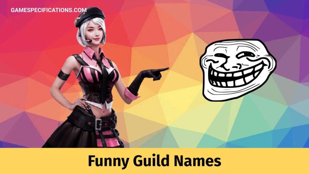 Funny Guild Names