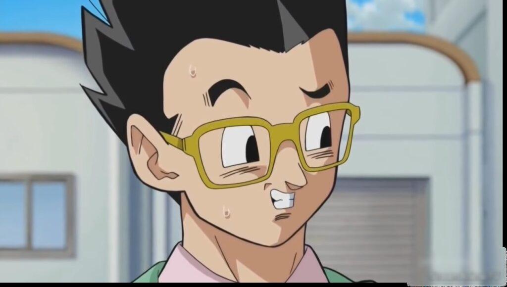 Gohan Wears Glasses