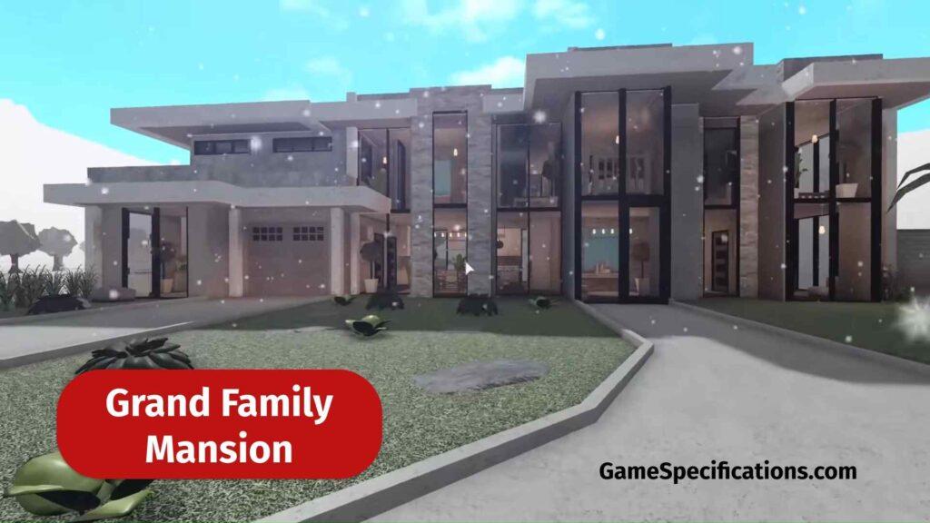 Grand Family Mansion in Bloxburg