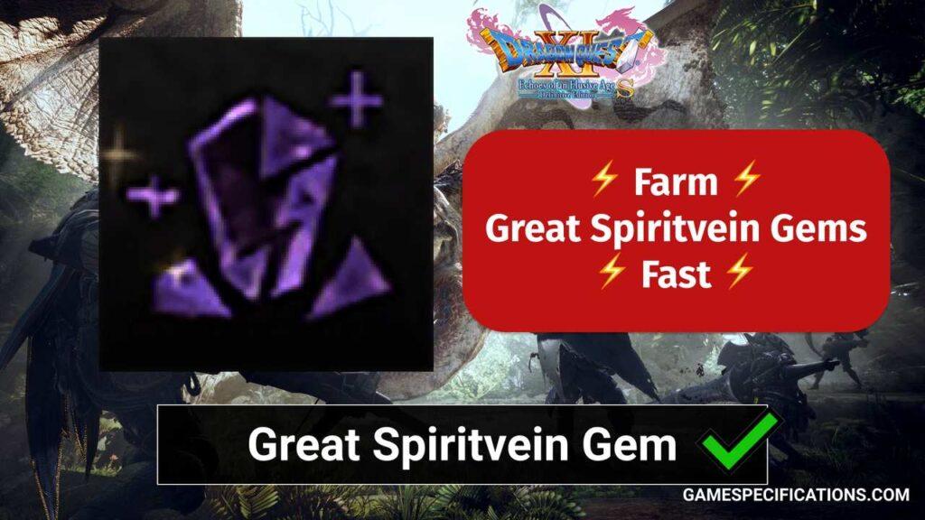 Great Spiritvein Gem MHW