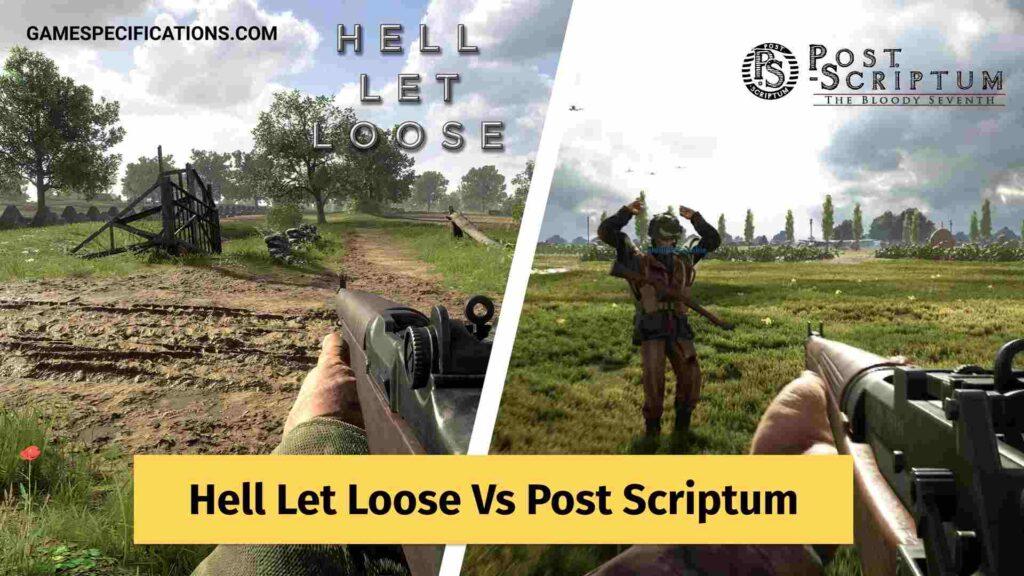 Hell Let Loose Vs Post Scriptum