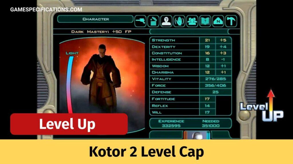 Kotor 2 Level Cap
