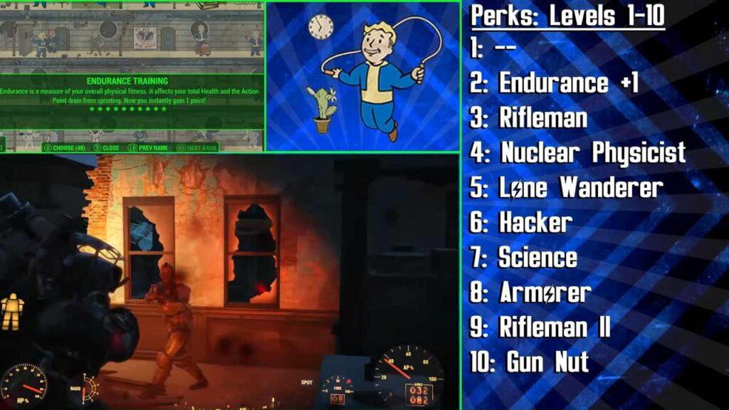 List of Fallout 4 Shotgun Perks