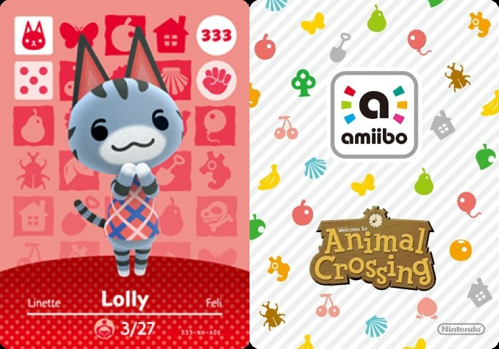 Lolly Animal Crossing - Amiibo Card