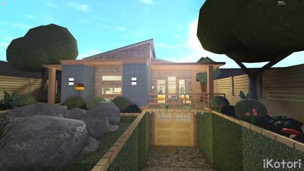 Mid-Century Modern Home Bloxburg