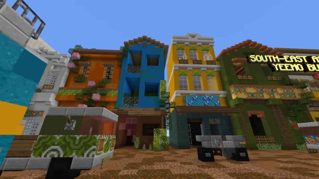 Minecraft Color Update