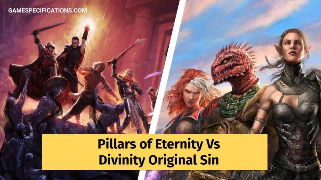 Pillars of Eternity vs Divinity Original Sin