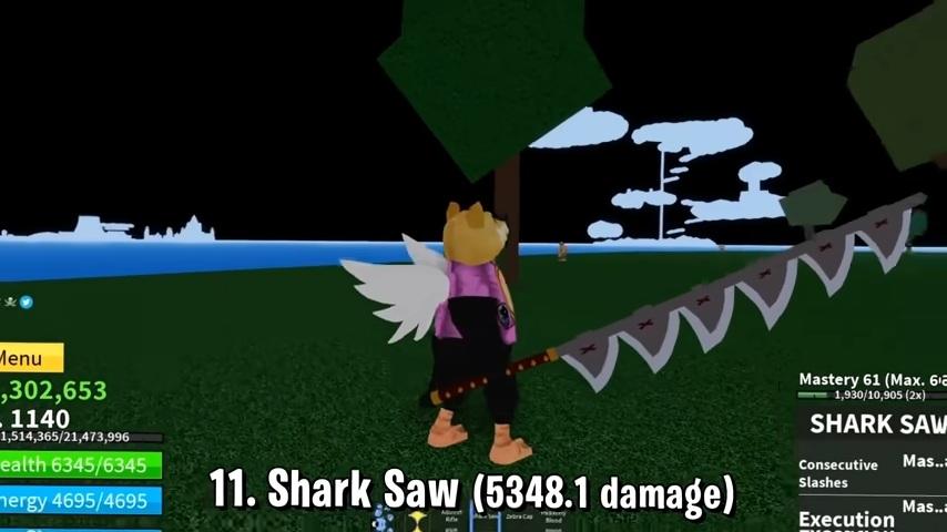 Shark Saw Blox Fruits