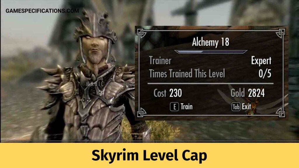 Skyrim Level Cap