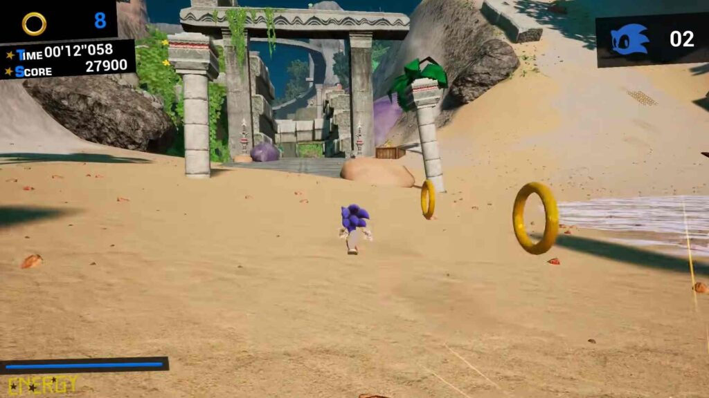 Sonic Infinity Engine Game
