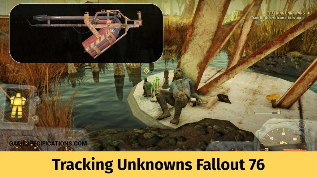 Tracking Unknowns Fallout 76