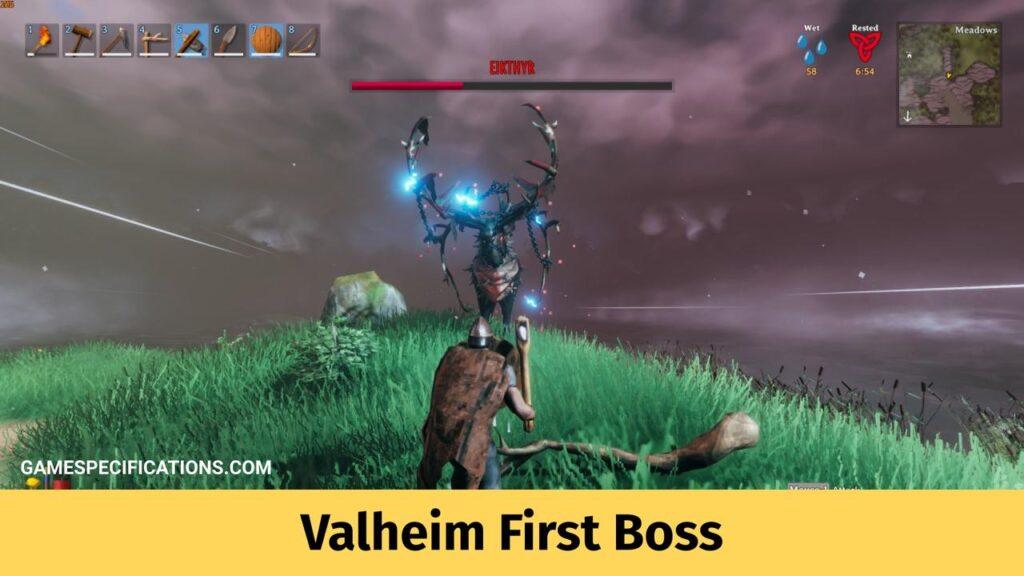 Valheim First Boss Eikthyr