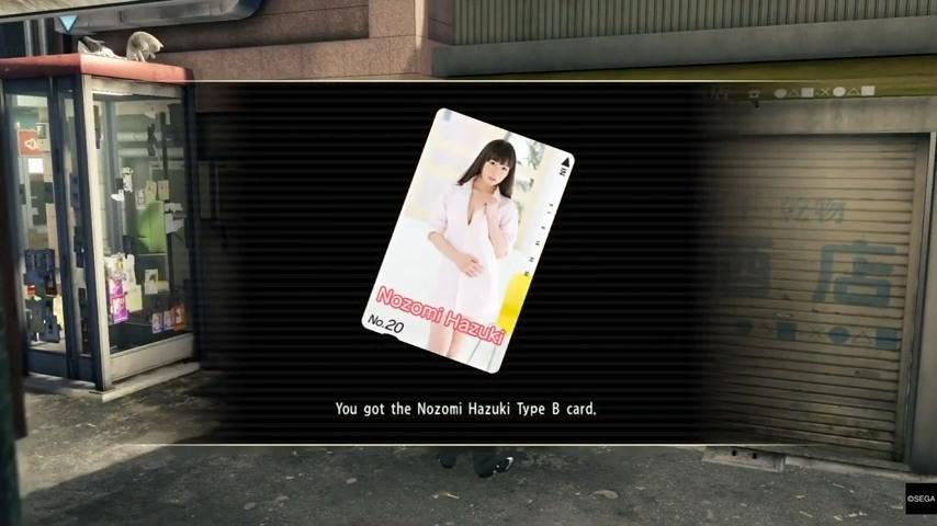Yakuza 0 Telephone Cards Sotenburi