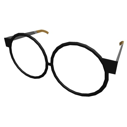 Black Round Sport Glasses