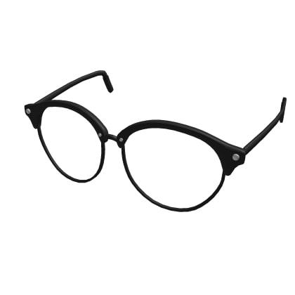 Black Vintage Glasses