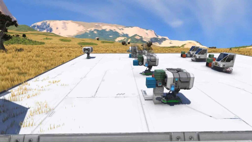 Building in Space Engineers