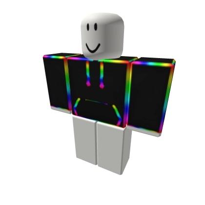 Cartoon Cartoony Rainbow Hoodie Jacket