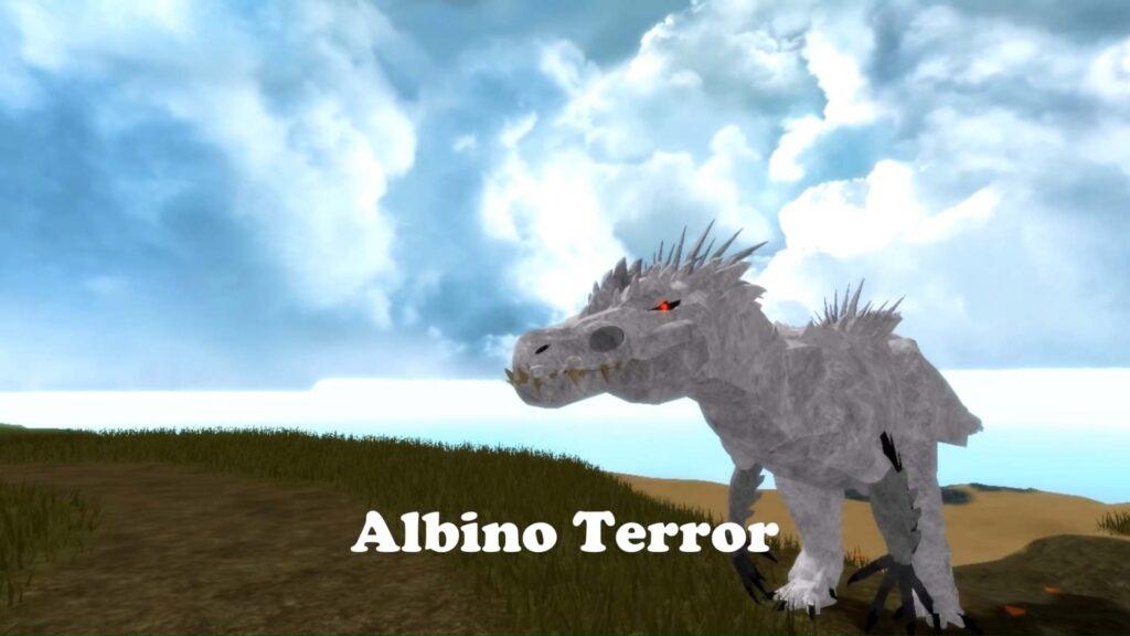 Albino Terror Dinosaur Simulator