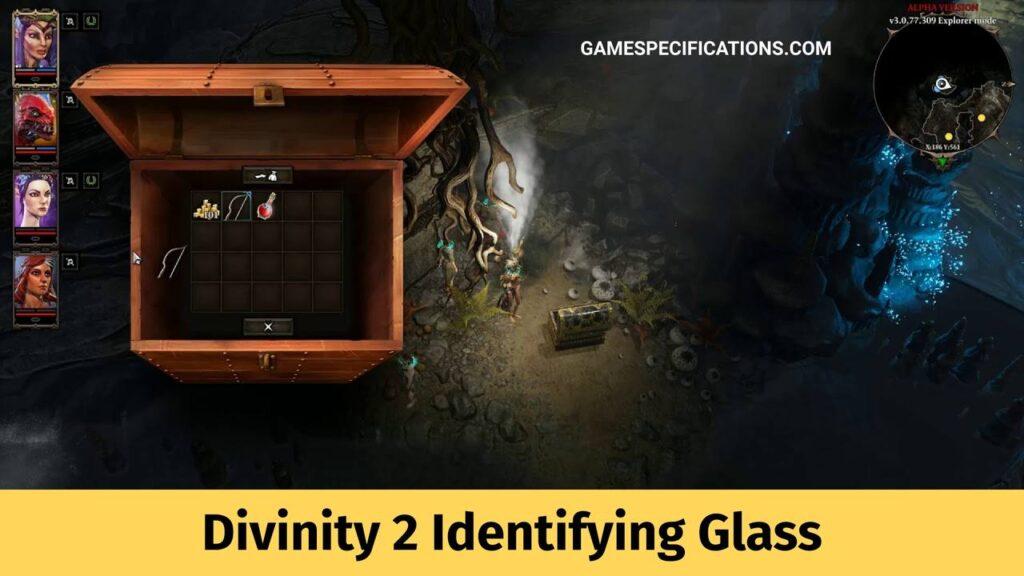 Divinity 2 Identifying Glass
