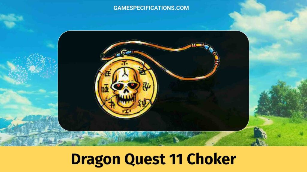 Dragon Quest 11 Choker