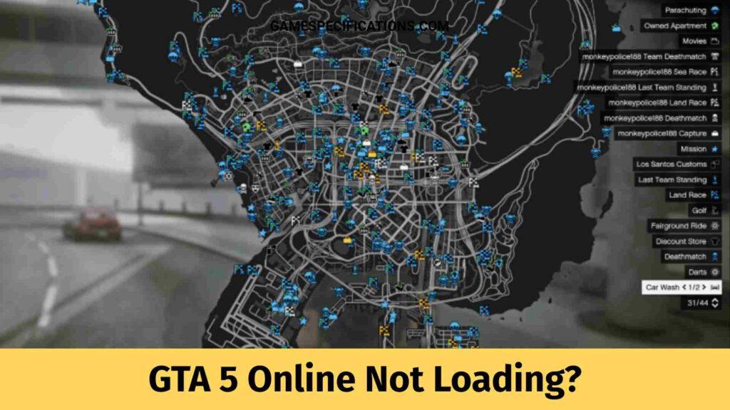 GTA 5 Online Not Loading
