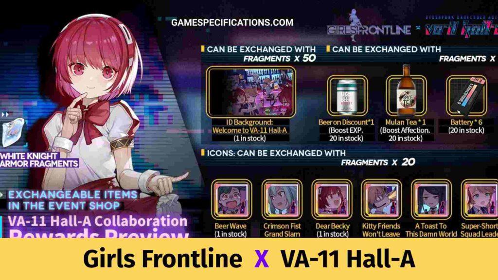 Girls Frontline VA-11 Hall-A